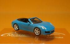 1/87 Herpa Porsche 911 Carrera 2 Cabrio miamiblau 028844-002