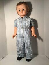 "Vintage Patti Playpal Doll, 32"", Stands Alone, Sleep Eyes"