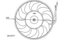 NRF Ventilador, refrigeración del motor AUDI A6 COUPE 100 CABRIOLET 80 47072