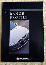 Vauxhall Car Range 1996 Models inc Astra Mk3, Vectra B, Omega, Corsa, Calibra