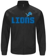 NEW Licensed NFL Detroit Lions Zippered Jacket - Size Small - FREE Shipping!