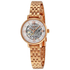 FOSSIL JACQUELINE MECHANICAL SKELETON DIAL ROSE GOLD LADIES WATCH ME3072 NEW