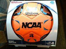 Wilson Ncaa size 4 orange soccer ball