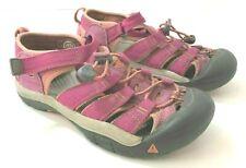 KEEN Newport H2 Girls 3M Sandals Red Orange Waterproof