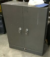 "Usa Steel Cabinet 30"" Tel Kee P.O. Moore Key Systems Control Vintage Sunroc"