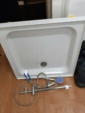 Adjustable Shower Tray with Shower Fitments