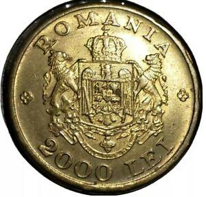 1946 2000 Lei Romania.  Uncirculated MS