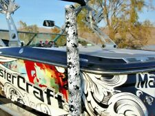 """Premium Gray Digital Camo Watercraft Boat Trailer Guide Ons On Pads Covers 36"""""""