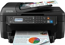 EPSON WorkForce WF-2750 Four-in-One Inkjet Printer Black with XL ink