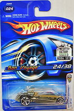 HOT WHEELS 2006 FIRST EDITIONS 24/38 BON VOYAGE #024 FACTORY SEALED