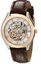 Stainless Steel Case Mechanical (Automatic) Oval Watches