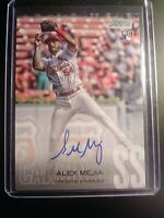 2018 TOPPS STADIUM CLUB Alex Mejia Rookie AUTOGRAPH Auto Cardinals MINT