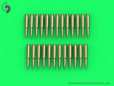 Master 1/35 Browning .50 Calibre (12.7mm) - CARTOUCHES (25pcs) #Gm35021