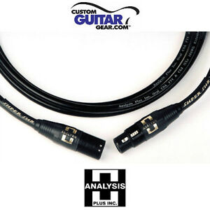 Analysis Plus Super Sub Interconnects w/ XLR Connectors, Length 5.0 Meters