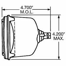 Low Beam Headlight H4656BL Wagner
