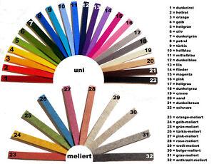 Filzstreifen 3mm dick, 29 mm breit, 30 cm lang, 100% Wollfilz, 32 Farben