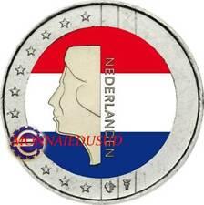 2 Euro Pays-Bas en Couleur Type A - Reine Beatrix