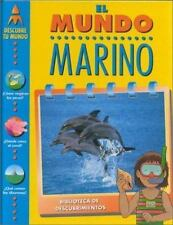 El Mundo Marino (Descubre Tu Mundo) (Spanish Edition)-ExLibrary