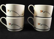 Floral Set of 4 Town & Country ARIANA by Gorham Tea Cups - FREE SHIPPING!!!