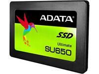 "ADATA Ultimate SU650 2.5"" 120GB SATA III 3D NAND Internal Solid State Drive (SSD"