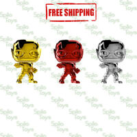 Funko POP! The Flash Justice League Chrome 3-Pack Summer Convention 2018