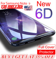 6D Glue Adhesive Tempered Glass Fr Samsung Galaxy S9/S9 Plus/Note 8/9 Full Cover