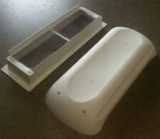 Dometic New Style Refrigerator Roof Vent Cap & Base Kit 3311236000