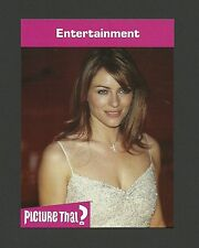Elizabeth Hurley Actress Celebrity Collector Card