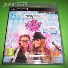 SINGSTAR PATITO FEO NUEVO PRECINTADO PAL ESPAÑA PLAYSTATION 3 PS3