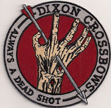 """Walking Dead- Dixon Crossbows  3"""" Embroidered Patch- FREE S&H (WDPA-04)"""