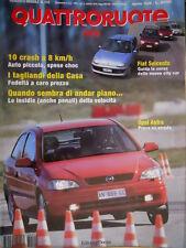 Quattroruote 510 1998 Prove Opel Astra. Land Rover Freelander 2.0 TD. [Q.9]