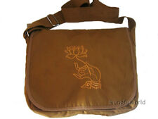 High quality Buddhist Monk Bag with Lotus Embroidery to Match Meditation Suit