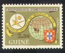 Portuguese Guinea 1958 EXPO/Exhibition/Maps/Brussels/Animation 1v (n39290)