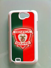 SAMSUNG GALAXY NOTE 2 COQUE ETUI BLANC PERSONNALISABLE PHOTO TEXTE LOGO BENFICA