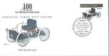 MARSHALL ISLANDS FDC - 1896 QUADRICYCLE - CACHETED - NICE!