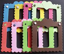 Paquete De Espuma Corazón Marcos Paquete de 8 para elaboración de tarjetas o scrapbooking