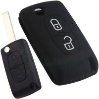 Custodia silicone guscio protettivo telecomando 2 tasti auto PEUGEOT 3008 PT2
