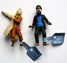 "2  TINTIN & HADDOCK ""FIGURINES  SERIE ML/HERGÉ 2012"