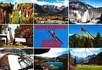 Oberstdorf , Heini Klopfer Skiflugschanze ,ungelaufene Ansichtskarte