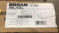 "New listing Broan Elite 30"" Custom Hood Liner For Rmp17004/Rmpe7004 Insert, Ss, Rml7030L"