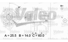 VALEO Alternador 70A Para AUDI A4 A3 SKODA OCTAVIA VOLKSWAGEN GOLF BORA 437315