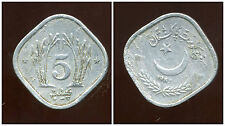 PAKISTAN  5  paisa 1983