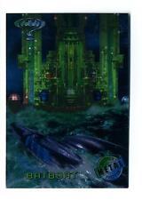 Fleer 1995 Batman Forever Metal Base Card #13 Batboat