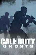 2013 ACTIVISION CALL OF DUTY GHOSTS BLUE SHADOWS POSTER  NEW 22x34 FREE SHIPPING