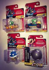 World Of Nintendo Yoshi Spiny Shell Chain Chomp Mario Kart 8 Super Mario Figures