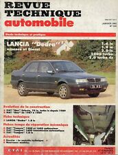 Revue Technique Automobile - Lancia Dedra - Essence et Diesel - N° 535 - 01/1992