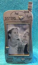"PEWTER: ****CELL PHONE SHAPE**** FETCO 3.5"" X 5""  (SISTERS, PAL, LOVE FUN)"
