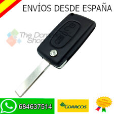 PEUGEOT 207 307 308 407 807 PARTNER FUNDA CARCASA LLAVE MANDO - NEW CASE KEY  V2