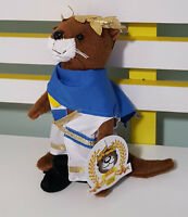 OTTER BOX OLLIE THE OTTER IN ROMAN OUTFIT WITH TAG PROMOTIONAL PLUSH TOY