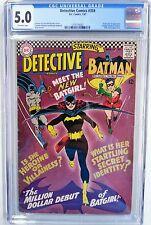 **DETECTIVE COMICS #359 CGC 5.0**(JAN 1967, DC)**1ST APP OF BATGIRL**SILVER AGE
